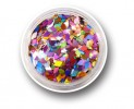 Laser Glitter Flakes Rhombus - Crazy Party